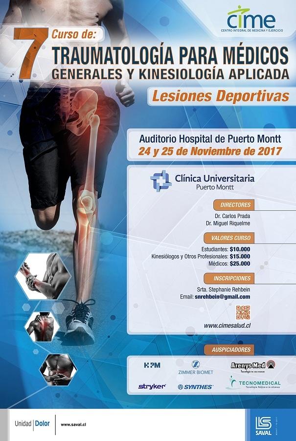 VII Curso de Traumatología para Médicos Generales y Kinesiología ...